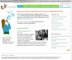 Technology Enhanced Learning and Research main page
